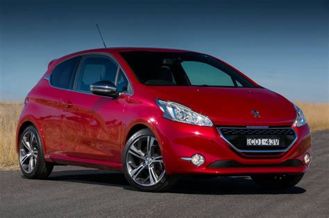 sales peugeot peugeot 208 gti now on sale in australia from 29 990