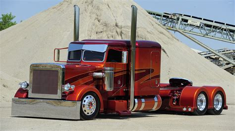 peterbilt trucks peterbilt truck 3 wallpaper car wallpapers 38556