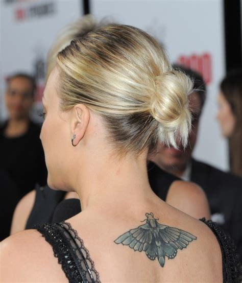 kaley cuoco new tattoo after divorce kaley cuoco covers wedding date with