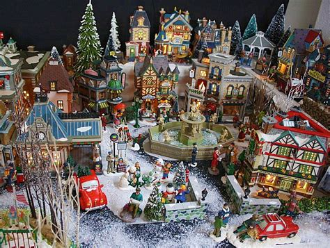home design image ideas miniature christmas village