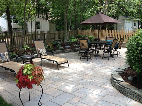 Backyard Patio Designs Pictures Landscape Around Patio More Concrete Patio Landscaping Patio Mommyessence