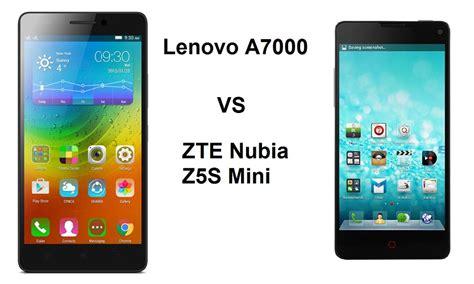 Lenovo A7000 Vs Samsung A5 harga lenovo a7000 vs zte nubia z5s mini spesifikasi dan perbandingan rancah post