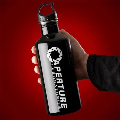 Portal Aperture Stainless Steel Water Bottles   Gadgetsin