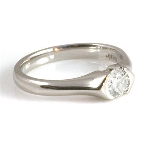 platinum enagement ring