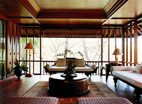 como shambhala estate bali oriental  wood aesthetic