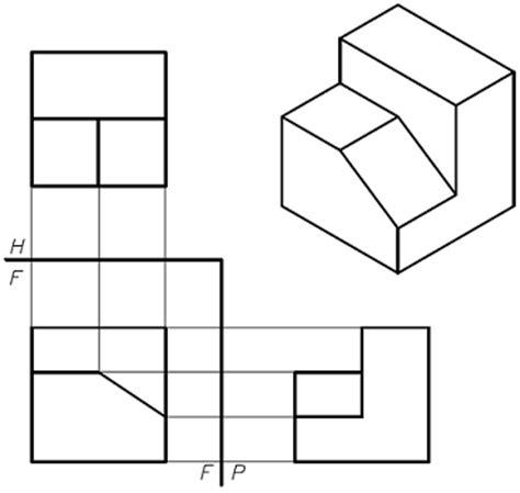 figuras geometricas utilizadas en el dibujo tecnico vista de solidos