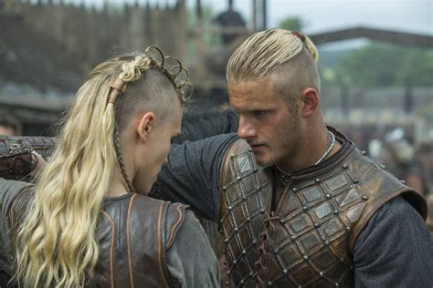 history channel vikings women hairstyles vikings season 3 spoilers will bjorn and porunn get