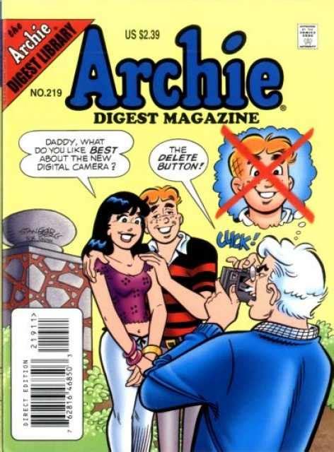 Archie Digest 224 archie digest magazine 217 issue