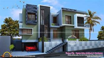 home design for duplex modern duplex house kerala home design and floor plans