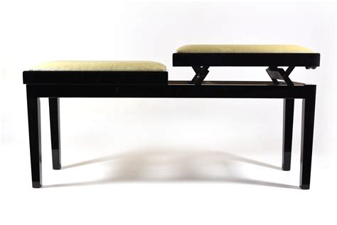 bench piano double small bench for piano adjustable in height