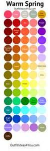 summer color warm seasonal color palette jen thoden