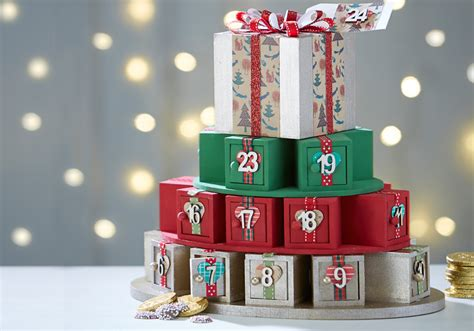 make an advent calendar how to make an advent calendar present stack hobbycraft