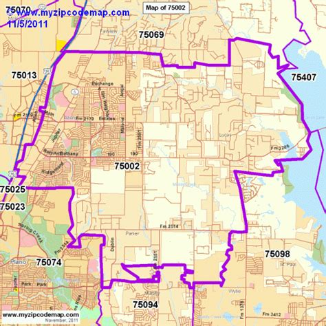 map of allen texas zip code map of 75002 demographic profile residential housing information etc