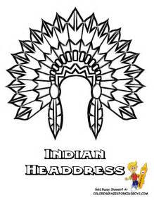 headdress template printable american coloring pages az coloring pages