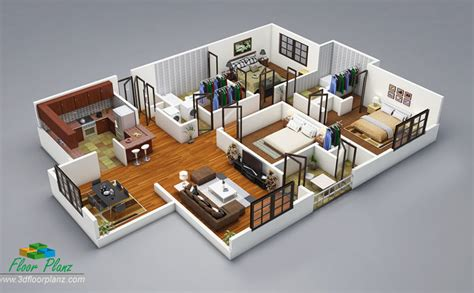 Home Design 3d Unlocked by 3d Floor Plans 3d Home Design Free 3d Models