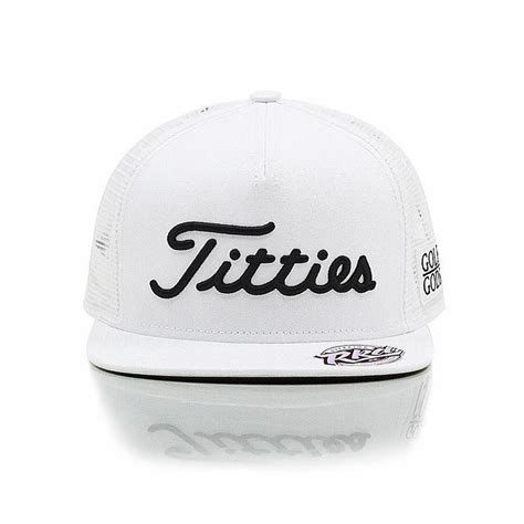 golf gods white trucker golf gods snapback
