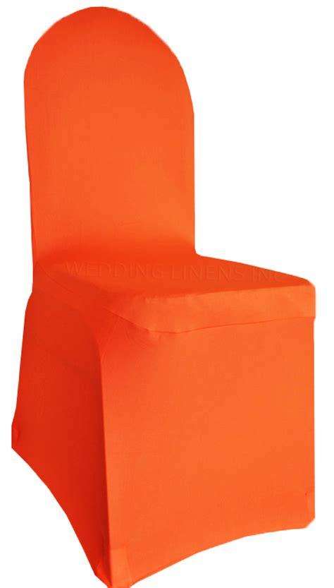 orange chair slipcover orange spandex stretch banquet chair covers sale