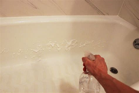 cleaning a bathtub with vinegar how to clean a bathtub naturally