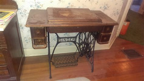 singer sewing machine  treadle base townconnection