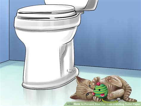 ways  prevent  cat  unrolling toilet paper wikihow