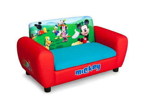 mickey mouse sofa bed delta children disney mickey mouse sofa baby