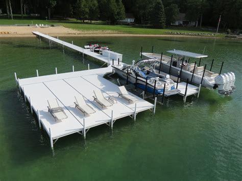 bulmann dock lift northern michigan s premiere dock - Boat Dock Manufacturers Michigan