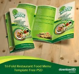 menu brochure template free 16 tri fold brochure free psd templates grab edit print