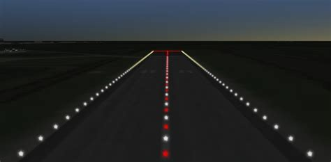 runway end identifier lights navigation guidance and control