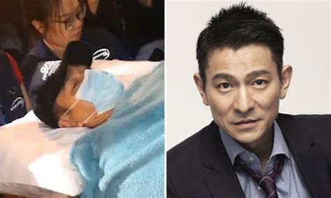 Singapore Telecom Hongkong Andy Lauw how andy lau is doing after suffering fractures