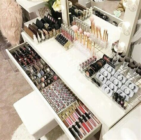 makeup table organization ideas best 25 makeup storage ideas on makeup holder