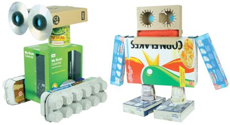Robo Am303 Summer Day Box make a robot out of recycled household items discovery k12