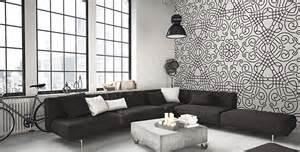 papiers peints salon mur aux dimensions myloview fr