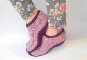 Women knit house slippers house sock warm slippers wool slippers gift