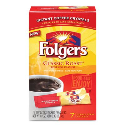 Folgers Sweepstakes - free folgers instant coffee crystals 0 75 moneymaker at walmart