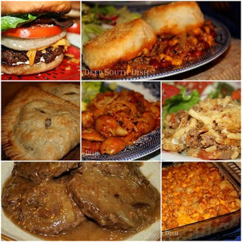 deep south dish 25 terrific recipes to make with ground beef