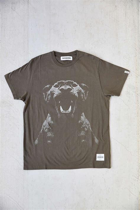 Kaos Tshirt Reckless supremebeing pantera noir clothing ii