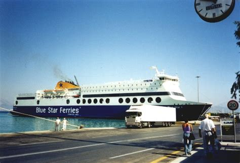 porto di patrasso h s f superferry atlantic mai entrata in servizio