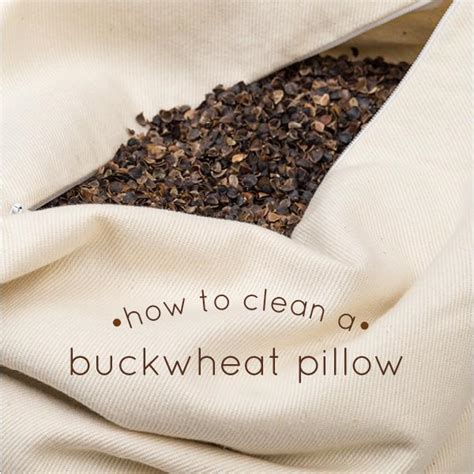 How To Clean A Pillow by How To Clean A Buckwheat Pillow Comfycomfy