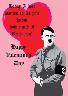 Valentines Cards Meme - quot adolf hitler quot greeting cards postcards by ben kling