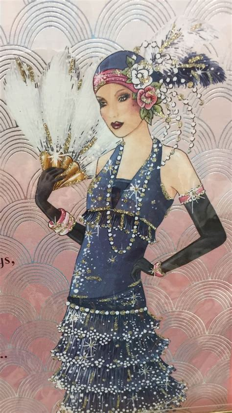 art deco lady l shimmer rokke pinterest art deco illustrations and