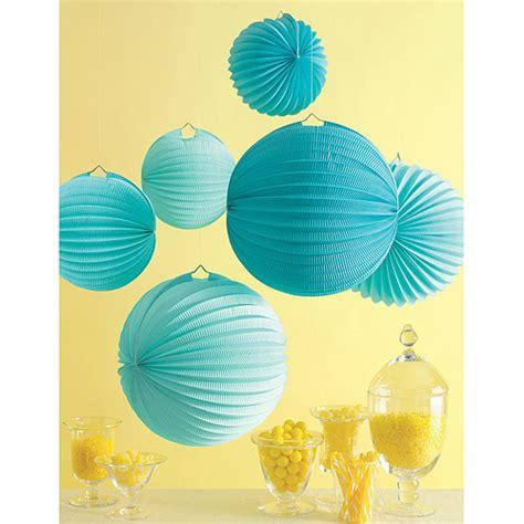 How To Make Paper Lanterns Martha Stewart - martha stewart craftspaper lanterns 6 pkg walmart