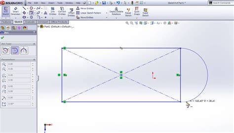 linear pattern sketch solidworks how to use solidworks arc sketching tools