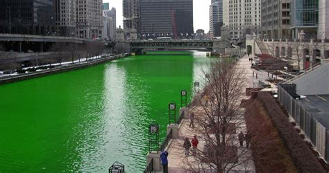chicago river st s day history tracing the origins of st s day
