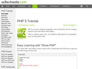 tutorial php w php tutorials for beginners web development tutorials