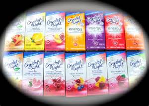 crystal light water flavor packets crystal light 174 on the go drink mix packets u pick various