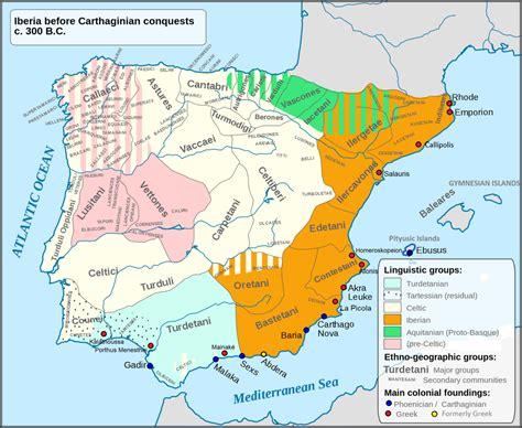 iberian peninsula on map astures