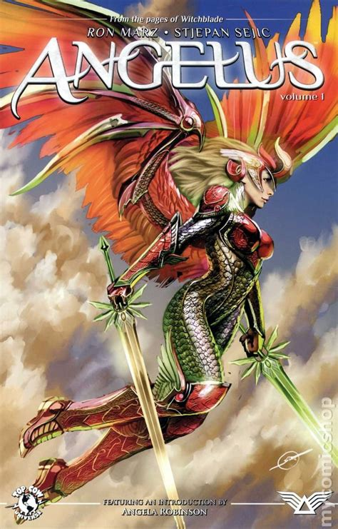 Broken Wings Volume 1 angelus tpb 2011 top cow comic books