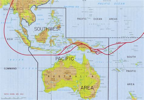 the in the area chapter 2 establishment of the southwest pacific area