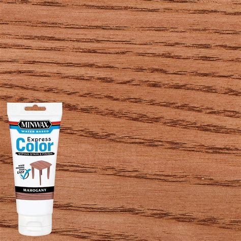 minwax express color minwax 6 oz water based express color wiping stain and
