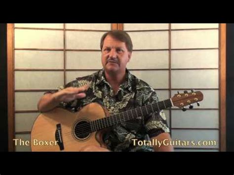 tutorial guitar the boxer how to play the boxer by simon and garfunkel tutorial